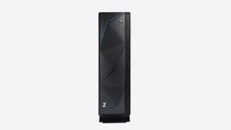 IBM z14 single frame, front view