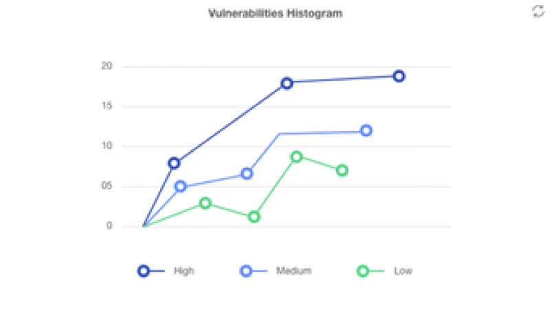 Vulnerabilities histogram