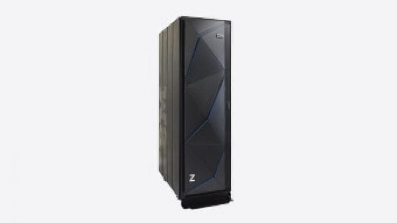 IBM z14 single frame, side view