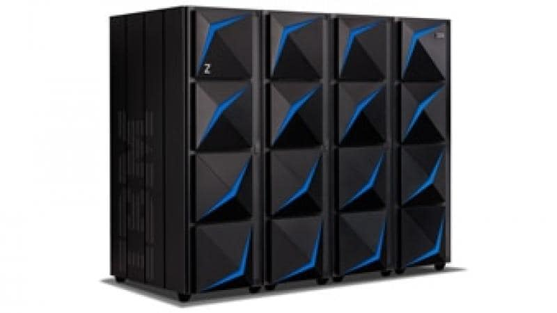 IBM z15 multi-frame with four frames