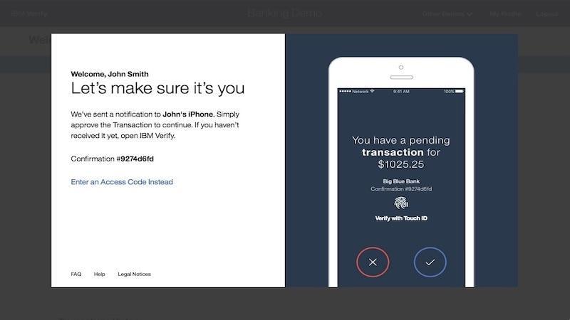 Illustration of mobile push notification