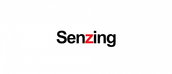 Senzing logo in black with red Z representing a real-time AI for Entity Resolution to make the most of an analytics platform