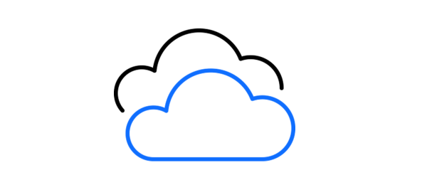 Icon representing MQ across multiple clouds