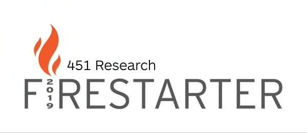 451 Research's Firestarter 2019 report banner