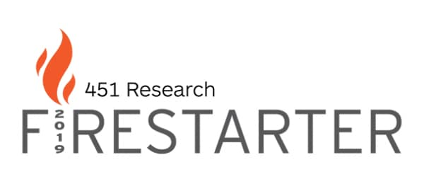 Logotipo de 451 Research Firestarter de 2019