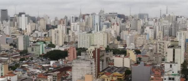 Skyline in Brasilien