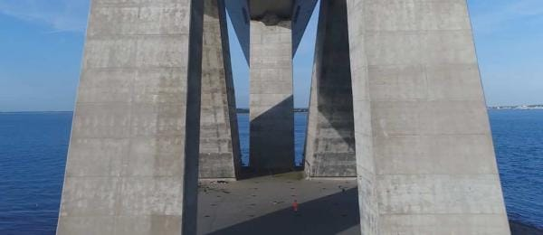 Concrete bridge structure